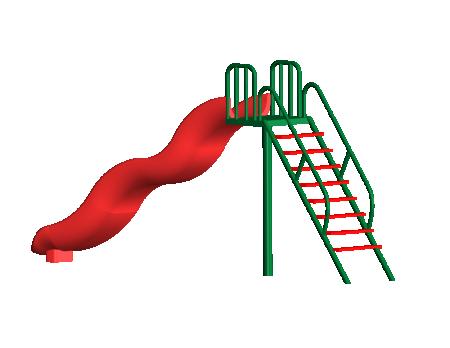 Wavy Slide - Slides in Delhi NCR